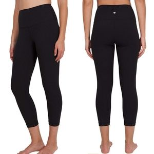 90 Degree Reflex high waisted cropped compression